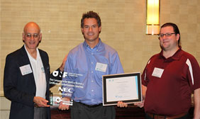 dan pitt, don clark, and fabian-schneider with the nec openflow certificate of conformance