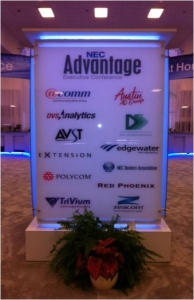 NEC partner sponsorships help make the Advantage Executive Conference possible.
