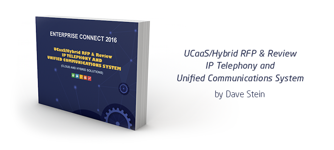 Free Ebook: UCaas RFP 2016