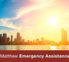 Hurricane Matthew Emergency Assistance Program