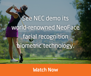 See NEC demo its world-renowned NeoFace facial recognition biometric technology. - Watch Now
