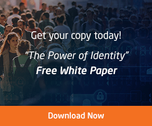 "Get your copy today - ""The Power of Identity"" White Paper"