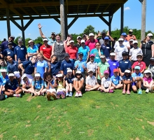 First Tee Golf Clinic Drives Home Fun, Sportsmanship at Volunteers of America LPGA Texas Classic Tour Event