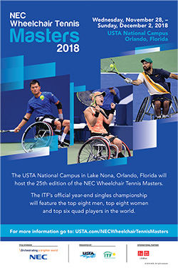 NEC Wheelchair Tennis Masters 2018