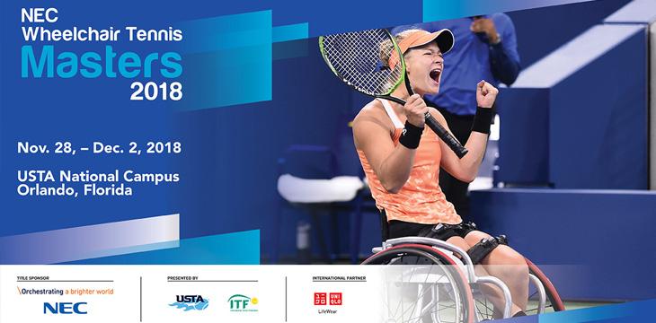 NEC Wheelchair Tennis Masters 2018
