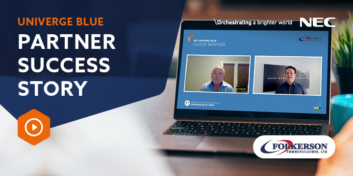 Partner Success Story: How Folkerson Communications was able to solve customer's challenges with UNIVERGE BLUE CLOUD SERVICES